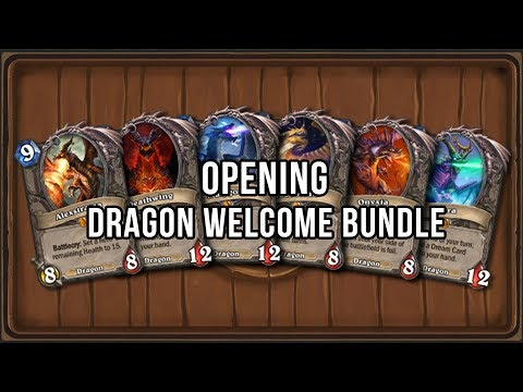 Opening Dragon Welcome Bundkle