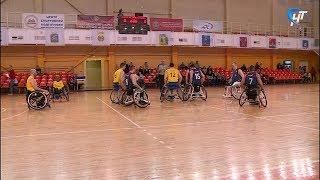Великий Новгород принял раунд Евролиги по баскетболу на колясках