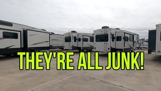JUNK JUNK JUNK RVs!  But why?  I really want to know your thoughts!