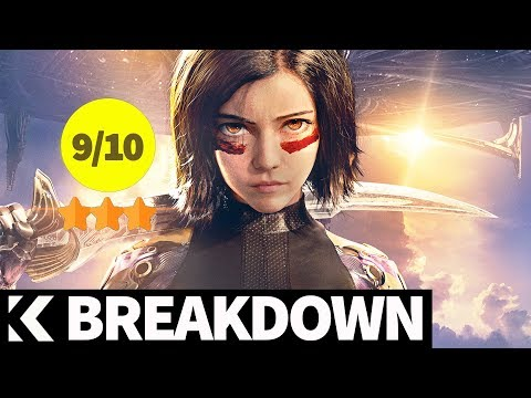 Breakdown: Alita: Battle Angel (2019) Rosa Salazar, Christoph Waltz, Keean Johnson