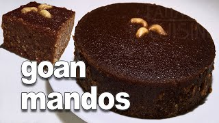 Coconut And Jaggery Sweet   Authentic Goan Mandos Recipe - YouTube   *Fatima Fernandes   Goan Recipe