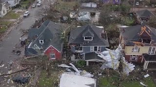 video: Watch: Deadly tornadoes kill 25 people in Nashville