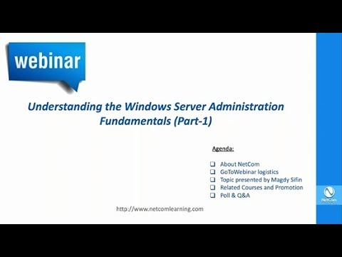 Understanding the Windows Server Administration Fundamentals ...