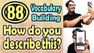 How do you describe this?(88) (Vocabulary Building) [ ForB English Lesson ]