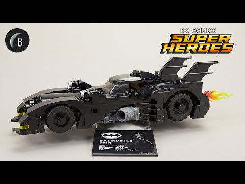Vidéo LEGO DC Comics 40433 : 1989 Batmobile Limited Edition