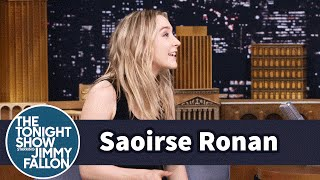 Saoirse Ronan Explains Irish Pub Lock-Ins