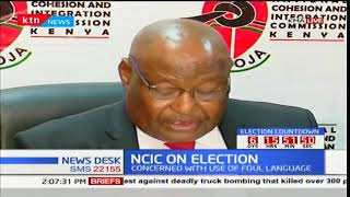 NCIC Chair Francis ole Kaparo weighs in on the political intolerance in the country