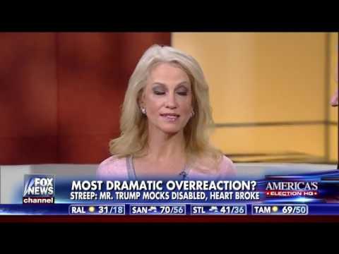 Kellyanne Conway OWNS Meryl Streep After Trump Smear at Golden Globes