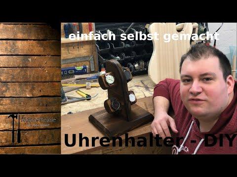 DIY Uhrenständer/Uhrenhalter