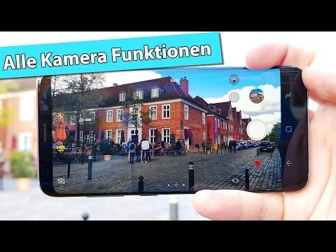 Samsung Galaxy S8 Kamera App – alle Funktionen, Tipps & Tricks | deutsch