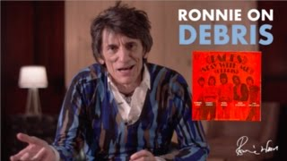 Ronnie Wood on Debris / Ronnie Lane & the Faces