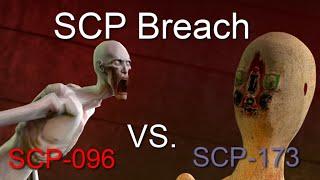SCP-096 Vs. SCP-173 [SFM]