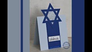 Hanukkah Star of David Card. Love this beautiful Hanukkah Card Happy Hanukkah