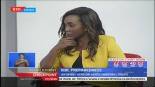 IEBC Commissioner Dr. Roselyn Akombe speaks on electoral preparedness