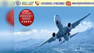 Select Air Ambulance in Bhubaneswar with Dedicated Medical Team