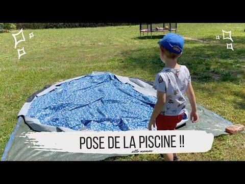 ON INSTALLE LA PISCINE ! - VLOG