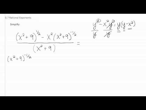 Rational Exponents p11