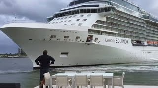 Couple Whose House Was Almost Hit By Cruise Ship Shares Their Scary Story