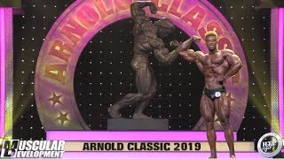 2019 ARNOLD CLASSIC - CLASSIC PHYSIQUE POSING ROUTINES