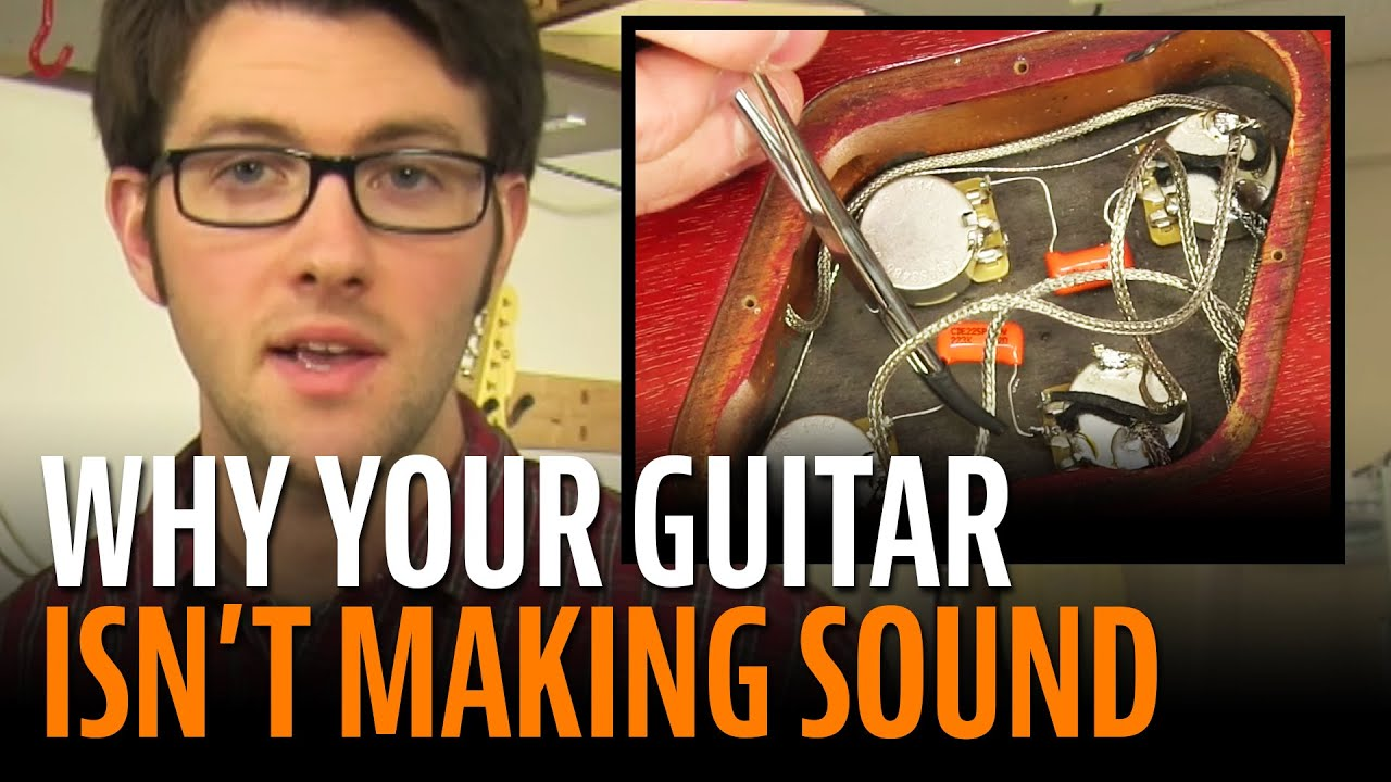 Troubleshooting an Electric Guitar With No Sound