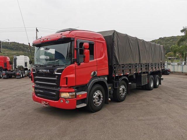 Vídeo do caminhão P270 8x2 Carroceria Baixa