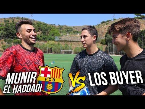¡MUNIR EL HADDADI vs LOS BUYER! FÚTBOL CHALLENGE