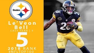 #5: Le'Veon Bell (RB, Steelers) | Top 100 Players of 2018 | NFL