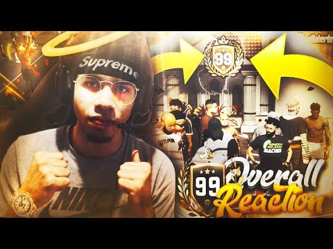99 OVERALL REACTION ON MY BUILD! 99 OVERALL SHOTMAKER! NBA 2K19 GAMEPLAY!