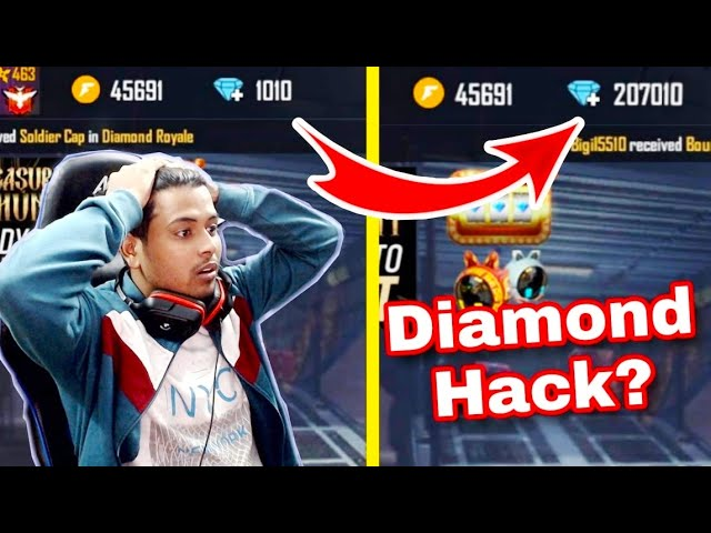 How to hack free fire free diamonds