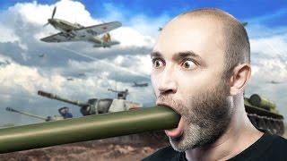 Парень глотнул у Мясника :) War Thunder