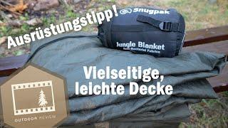 SnugPak Jungle Blanket | Alternative zu Sommerschlafsack und Inlay im Winter | Outdoor Review