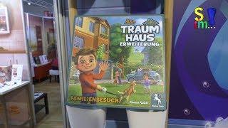Kurzerklärer - Erweiterungen - Captain Sonar & Mein Traumhaus - Pegasus Spiele - Spielwarenmesse