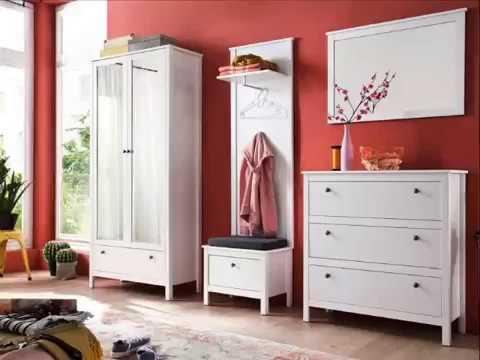 Garderobe Ole in weiß Flurmöbel Sets und Schränke