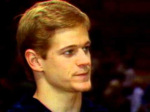 Peter Vidmar & James Hartung - Interview - 1984 McDonald's American Cup - Men
