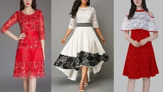 Stylish Fit & Flare Dress Designs For Girls 2020 | Party Wear Dress Designs | Midi Dress Design