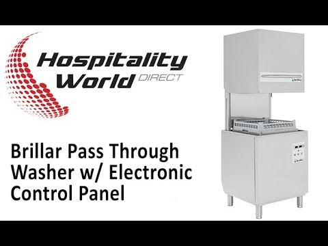 Dishwasher | Brillar Pass Through Washer HITECH-PT500