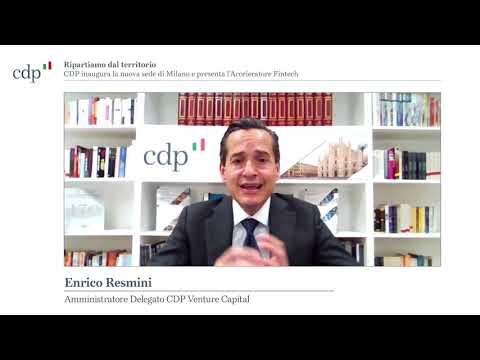 L'intervento di Enrico Resmini, Amministratore delegato di CDP Venture Capital - #CDPMilano