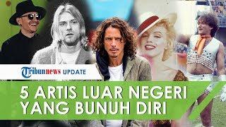 Selain Sulli f(x), Inilah 5 Artis Internasional yang Bunuh Diri, Kurt Cobain Tembak Kepala