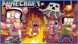 🔴 Minecraft Dungeons but I'm the biggest creeper in these caves... 😨