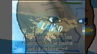 """/int/ sings """"Marchas a las Malvinas Argentinas"""""""