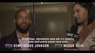 UFC 215: Entrevista de backstage com Demetrious Johnson