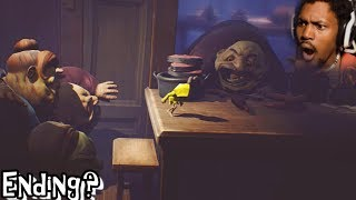 OMG SASHA BABY PLEASE KEEP RUNNING | Little Nightmares (Part 4) ENDING