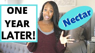 Nectar Mattress ONE YEAR Review! | Is it worth it?
