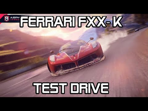 Ferrari FXX-K Test Drive