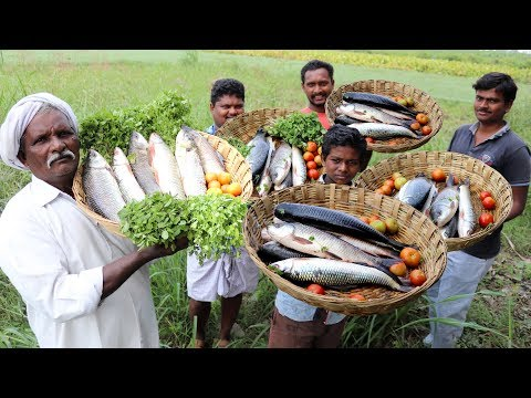 Epic full fish fry – spicy grilled fish- whole thandoori fish recipe By Grandpa