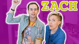 My Drunk Kitchen: Pizza Cake ft. The Try Guys! (Part Two... Zach!) - Video Youtube