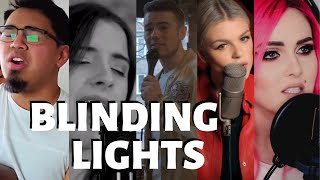 Top 5 Covers - Blinding Lights - The Weeknd