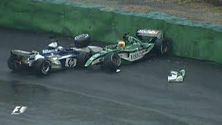 Fisichella Wins Amid Interlagos Chaos | 2003 Brazilian Grand Prix
