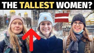 Tallest WOMEN in THE WORLD!! (Latvia)
