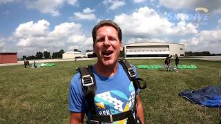 Michael Boller's Tandem Skydive at Skydive Indianapolis!
